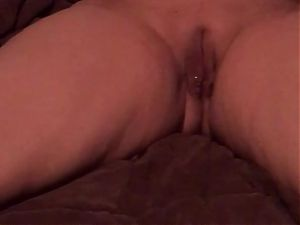 Filming My Thick Hotwife in Bed
