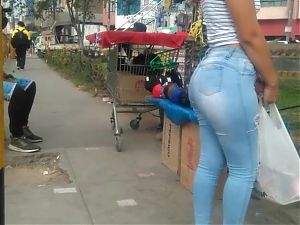 young Venezuelan ass in jeans...
