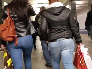 Two big asses